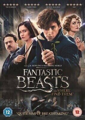 Fantastic Beasts and Where To Find Them [DVD + Digital Download] ...