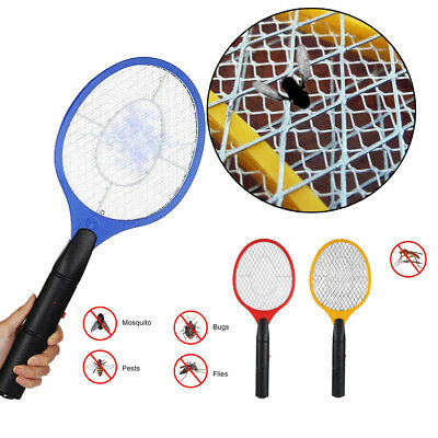 Hand Held Bug Zapper Insect Zapper Fly Swatter Racket Mosquito Killer  Electric