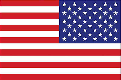 Reverse United States of America USA Flag US Motorcycle Car Laptop Decal Sticker