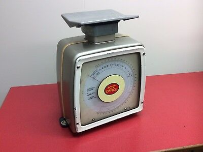 Vintage Avery Post Office Royal Mail Scales Original Shop Display