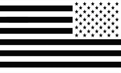 Reverse United States of America USA Flag Motorcycle Car Laptop Decal Sticker WB