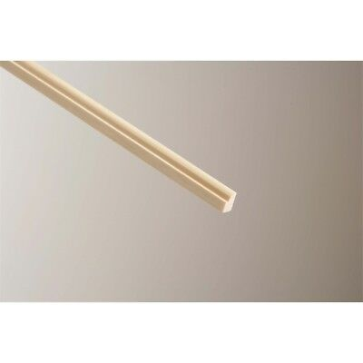 Cheshire Mouldings Glass Bead Pine, 9 x 15mm x 2.4m