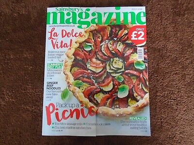 Sainsbury's Food & Drink Magazine-July Edition-New & In Excellent Condition