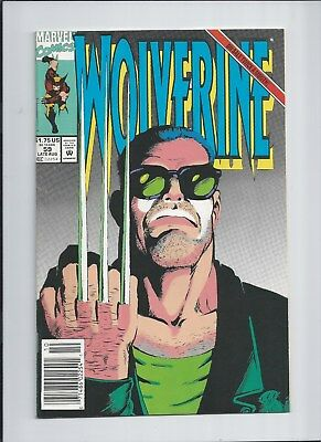 Wolverine #59 NM- (9.2) 1992 Terror Inc. X-over! See high res scans!