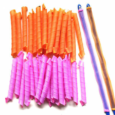 Lot 40pcs 55cm Hair Rollers Long Hair Curlers for Hair Styling Cheap Tools To1