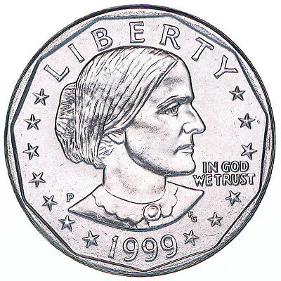 1999 P Susan B Anthony Gem BU Dollar US Mint Coin
