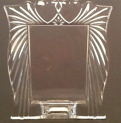Marquis By Waterford Crystal Photo Frame Double Heart 35 X 5 Photo