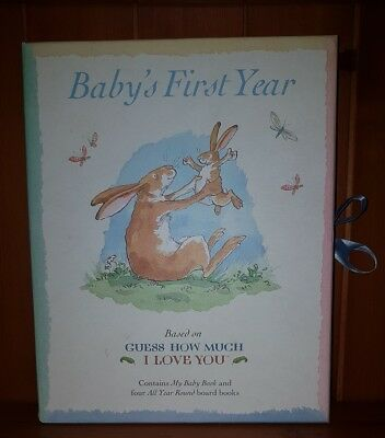 Baby First Year Book Set - Contains My Baby Book & Four Year Round Books