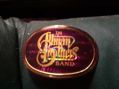 Vintage Pacifica belt buckle 1978 The Allman Brothers Band Ultra Rare NOS