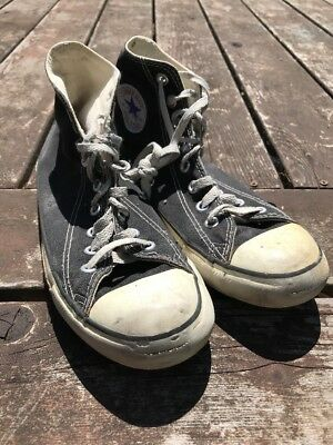 1e60b01be83d Vintage 1990S Converse Chuck Taylor All Star Hi Top Shoes Made In Usa Sz 7.5