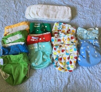 Cloth Diapers Lot Used