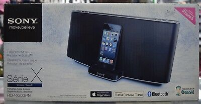 Sony Speaker RDP-200iPN Brand New Black