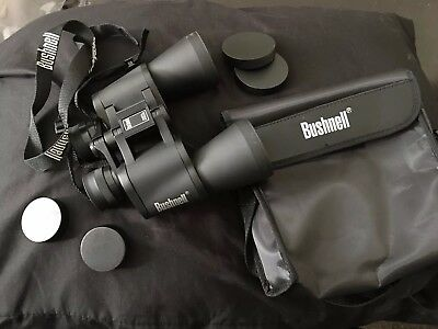 Bushnell Binoculars 10x50 Insta Focus with Carrying Bag 288 ft at 1000 yds