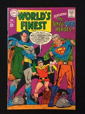 World's Finest #173 Silver Age 1968 Vg/Fn