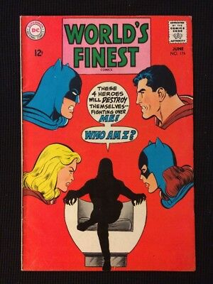 World's Finest #176 Silver Age Fn/Vf