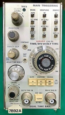 Tektronix 7000 Series Plugins: 7B92A, 7A29, & 7A18 - Tested - Excellent!