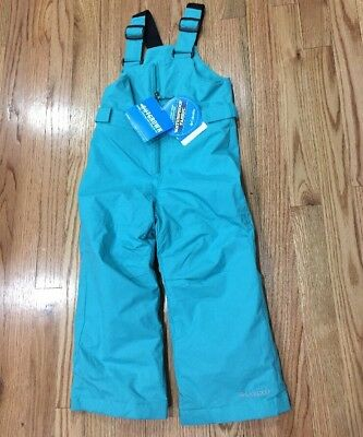 NEW Columbia 4T Youth Toddler Snow Pants Snowsuit Ski pants Girls boys youth 4