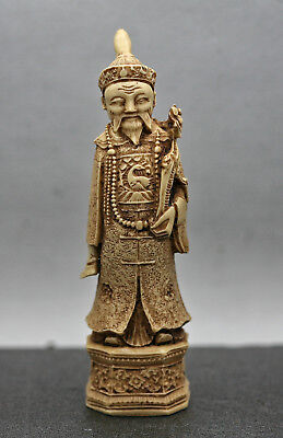 Excellent Quality Artwork Of A Chinese Mandarin Made Of Composite Resin