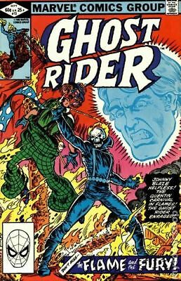 Ghost Rider (1st Series) #72 1982 VG Stock Image Low Grade