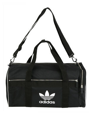 b4c90dd540e0 ADIDAS ORIGINALS UNISEX Blue Adicolor Duffle Bag Medium Gym Shoulder ...
