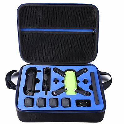 DACCKIT DJI Spark Drone Carrying Case - fit for 4 Drone Batteries, Remote