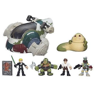Star Wars Galactic Heroes Jabbas Bounty Playset, Ages 3-7, Jabba the Hutt toy