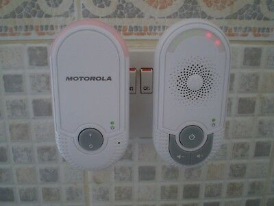 Motorola MBP8 Hear Every Peep Digital Audio Baby Monitor,FREE POST!!