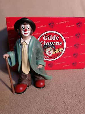 Gilde Clowns Club Comedy Collection 14 cm Gernegross 2003 Figur Clown