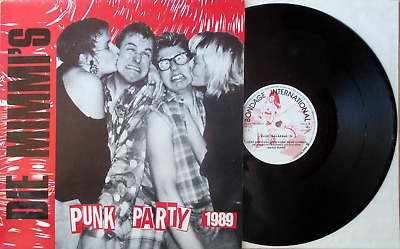 "Die Mimmi's: Punk Party 1989 (Deutschpunk-LP/12"" 1989! Made in France!)"