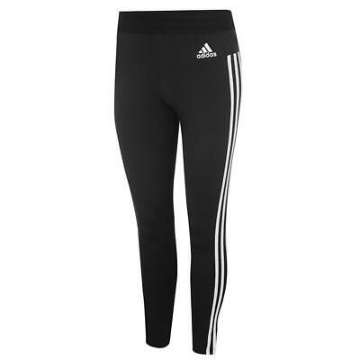 adidas Damen Leggings Training Hose Hosen 3 stripe Fitnesshose Gr XS 30-32