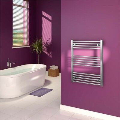 Supaplumb Curved Towel Rail, 600 X 800mm Chrome