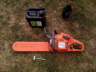 Husqvarna 135 Petrol Chainsaw with Chain Oil, 2 stoke Oil and Chain Tool