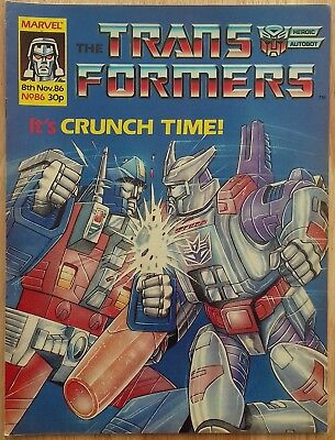 UK Transformers Comic Issue 86