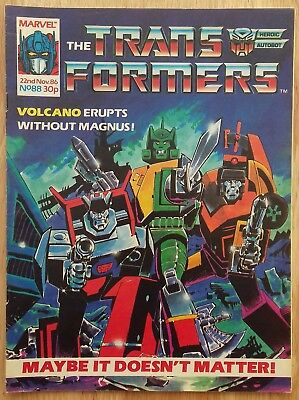 UK Transformers Comic Issue 88