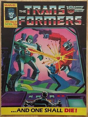UK Transformers Comic Issue 106