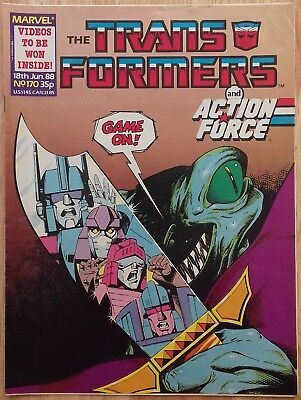 UK Transformers Comic Issue 170