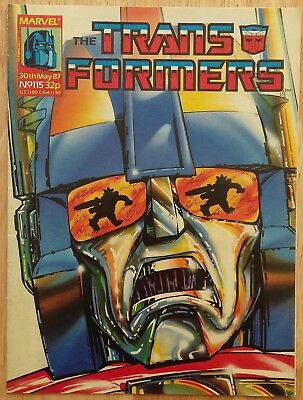 UK Transformers Comic Issue 115