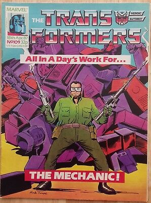 UK Transformers Comic Issue 109
