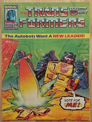 UK Transformers Comic Issue 111