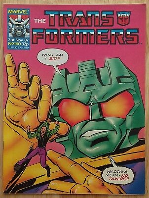 UK Transformers Comic Issue 140