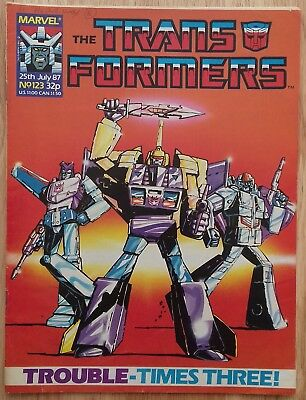 UK Transformers Comic Issue 123