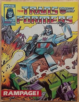 UK Transformers Comic Issue 107