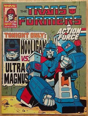 UK Transformers Comic Issue 171