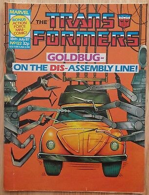 UK Transformers Comic Issue 122