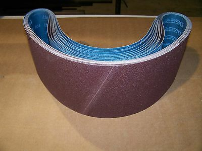 "Premium  A/o,  X-Weight  Sanding  Belts  6"" X 48"",  10 - Pack,  36-Grit"