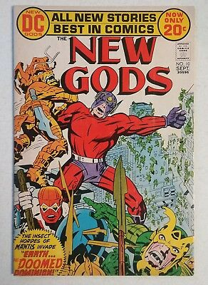 The New Gods #10 (Aug-Sep 1972, DC) by Jack Kirby.