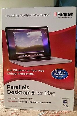Parallels Desktop 5 for Mac Software - Run Windows On your Mac Without Rebooting