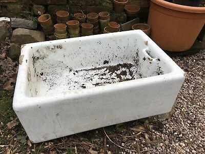 Vintage Belfast Sink Garden Planter Ornament Reclaimed