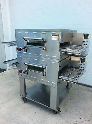 """Middleby Marshall PS536 Double Deck Conveyor Pizza Oven ***Belt Width 20""""***"""