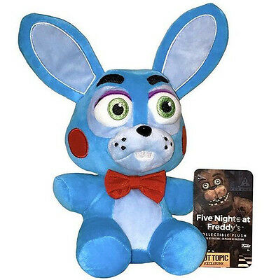 "New Funko Five Nights at Freddys Bonnie 6"" Exclusive Plush Toy Doll"